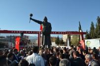 LÜTFÜ SAVAŞ - Süleyman Şah'ın Heykeli Törenle Açıldı