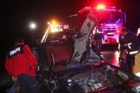 TEM'de Feci Kaza Açıklaması 8 Yaralı