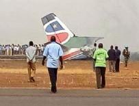 YOLCU UÇAĞI - 44 kişiyi taşıyan uçak yere çakıldı
