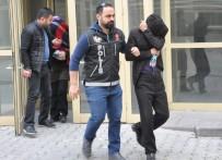 METAMFETAMİN - Vücuduna 400 Bin Liralık Uyuşturucu Saran Kadın Polisten Kaçmadı