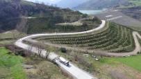 KALDIRIMLAR - 4 Bin 500 Metrelik Yol Betonla Kaplanıyor