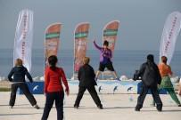 KARŞIYAKA BELEDİYESİ - Açık Havada Spor Keyfi Başladı