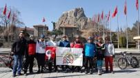 CENNET - Afyon PAB Üyeleri Çanakkale Zaferi İçin Pedal Çevirdi