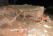 ASFALT ŞANTİYESİ - Aksaray'da Mandıra Çöktü Açıklaması 1 Yaralı
