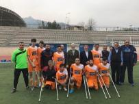 FUTBOL TAKIMI - Ayyıldız Ampute Futbol Takımı Liderliğini Sürdürüyor