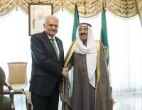KUVEYT EMIRI - Başbakan Yıldırım, Kuveyt Emiri El-Sabah İle Bir Araya Geldi