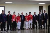 FEDERASYON BAŞKANI - Başkan Çolakbayrakdar, Türkiye Şampiyonlarını Ağırladı