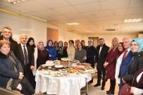 KADIN SAĞLIĞI - Başkan Doğan, Kadın Sosyal Yaşam Merkezini Ziyaret Etti