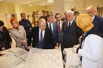 AYASOFYA - Başkan Gümrükçüoğlu'ndan Yöresel El Sanatları Kurs Merkezine Ziyaret