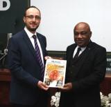 DEMOKRATIK KONGO CUMHURIYETI - Büyükelçi Tshidimba'dan Başkan Okka'ya Ziyaret