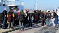 DALYAN - Çeşme'de 46 Sığınmacı Yakalandı