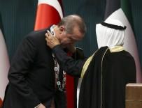 DEVLET NİŞANI - Kuveyt Emiri Cabir el Sabah Ankara'da