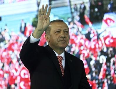 Cumhurbaşkanı Erdoğan hayırcı takımını özetledi