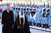 KUVEYT EMIRI - Cumhurbaşkanı Erdoğan, Kuveyt Emiri Al Sabah'ı Resmi Tören İle Karşıladı
