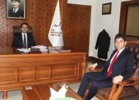 Defterdar Orhan Taş, Vali Aktaş'ı Ziyaret Etti