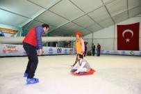 BUZ PATENİ - Down Sendromlu Çocuklar Buz Pistinde