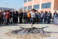 Edirne'de Nevruz Ateşi Yakıldı