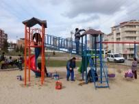 TAHTEREVALLI - Edirne'de Parklar Yenileniyor