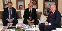 İNİSİYATİF - ERVAK Başkanı Güzel'den Başkan Sekmen'e Kültür Teşekkürü