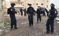 GÜVENLİK GÜÇLERİ - İsrail 14 Filistinliyi Gözaltına Aldı