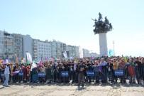 ABDULLAH ÖCALAN - İzmir'de Nevruz Kutlamaları