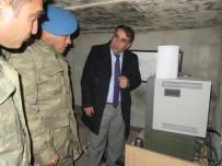 JANDARMA KARAKOLU - Kaymakam Ercan Öter, Askeri Üst Bölgelerini Ziyaret Etti