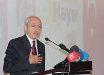 BÜLENT ECEVIT - Kılıçdaroğlu Açıklaması 'Referandumda Kimse Kahveye Konken Ve Taş Oynamaya Gitmesin'