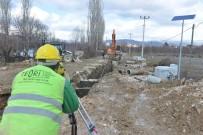 KANALİZASYON ÇALIŞMASI - Korkuteli'nde Kanalizasyon Seferberliği