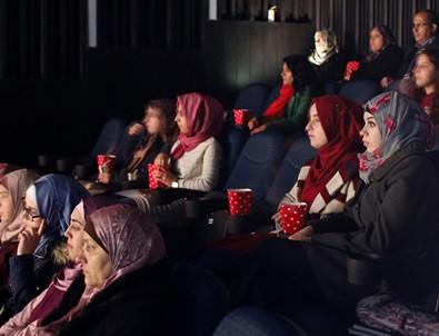 Kudüs'te Türk filmlerine yoğun ilgi