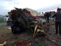 Nusaybin'de Trafik Kazası Açıklaması 2 Ölü