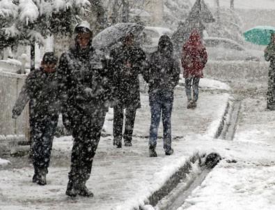 Meteoroloji'den uyarı! Kar geliyor..