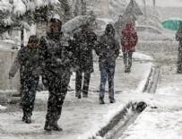 DOĞU ANADOLU - Meteoroloji'den uyarı! Kar geliyor..