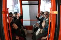 TELEFERIK - Yaşlılar Antalya'yı Tünektepe'den Seyretti