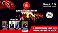 SABAH GAZETESI - Yeni Anayasa Paneli Düzenlenecek