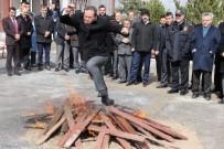 BOZOK ÜNIVERSITESI - Yozgat'ta Nevruz Ateşi Yakıldı