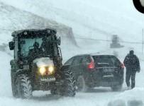 KAR KALINLIĞI - Yurttan Kar Kış Manzaraları