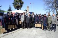 OKSIJEN - Zonguldak'ta Halka Ücretsiz 3 Bin Fidan Dağıtıldı