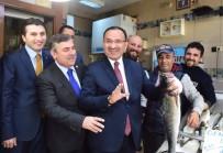 Adalet Bakanı Bozdağ Sinop'ta Balıkçı Esnafını Ziyaret Etti
