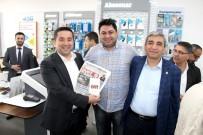 AK Parti Mezitli'de Esnaf Ziyaretleri Sürüyor