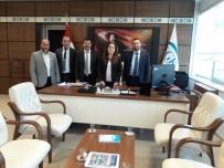 ALI DINÇER - Aydın TÜMSİAD'dan SGK İl Müdürlüğüne Ziyaret
