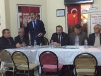AHMET NECDET SEZER - Başkan Alemdar Çubuklu'ya Misafir Oldu