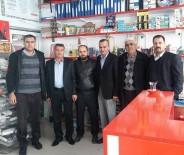 KÜRESELLEŞME - Başkan Çatan'dan Sincik Esnafına Ziyaret