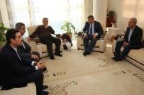 ŞÜKRÜ KARABACAK - Başkan Karabacak, Çocuklarına Ömer Halis İsmini Veren Aileyi Ziyaret Etti