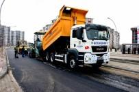 BİSİKLET YOLU - Bostanbaşı Caddesi Asfaltlanıyor