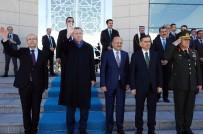 KUVEYT EMIRI - Cumhurbaşkanı Erdoğan Kuveyt Emiri Al Sabah'ı Uğurladı