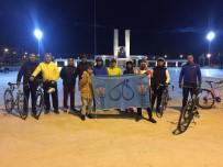 ÇANAKKALE VALİLİĞİ - Didimli Bisikletçiler 25 Mart'ta Çanakkale Yolcusu