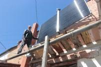 GÜNEŞ ENERJİSİ - Domaniçli Mucit, Evini Kalorifer Sistemini Güneş Enerjisiyle Çalıştırarak Isıtıyor