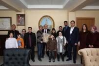 DOWN SENDROMU - Down Sendromlu Öğrenciler Vali Ustaoğlu'nu Ziyaret Etti