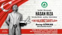 BALKAN SAVAŞI - Edirne'de Şehit Ressam Hasan Rıza'nın Heykeli Açılacak