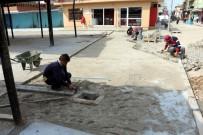 MURSALLı - Germencik Belediyesi Yol Yapımında Hız Kesmiyor